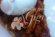 Gluten-Free Pies & Tarts / A collection of gluten-free pies and tarts. / by Gluten Free Gigi, LLC