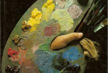 pintura al óleo negras africanas