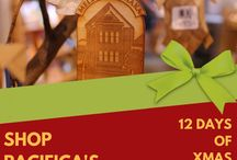 12 Days of Christmas Sale at Bishop Museum's Shop Pacifica! / The 12 Days of Christmas Sale at Bishop Museum's Shop Pacifica December 13-December 24, 2017.  Each day at 8 a.m., we will unveil a surprise sale item exclusively on our Facebook page so check back daily.  Enjoy savings from 25% to 75% OFF select merchandise!  Shop Pacifica at Bishop Museum, a premier collection of Hawaiian and Pacific apparel, gifts, and cultural items.