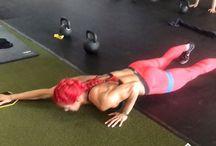 Hannah Eden workouts