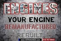 Videos / What does a Machine Shop/ Auto Parts Store do?  Check out the Video on products and service offered from a rebuilt remanufactured engine builder.  Parts to build an engine for DIY, mechanics and shops.  Check it out!
