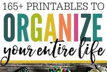 Organization Printables / If you love printables and organization, then this is the board for you! In Organization Printables you'll find free and paid printables to organize your whole life! Whether you need printables for general household management, cleaning, work, family, or even a financial planner, it's here! You'll also find printables specific for organizing bills, medical records, school, schedules, and more! And for more organizing printables, click the link in our bio to head over to The Modern Nest shop!