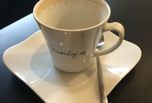 Z kawą...