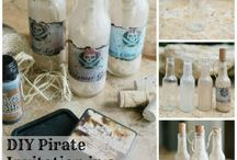 Pirate Party / Ahoy! Planning a pirate themed party? Then ye better get ready to trim the sails for a perfect party adventure.