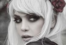 Mystical / Fairytale, woman, girl, man, forest, inspiration, make up, photo, romantic, dress, flowers