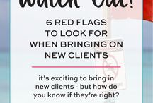 Get more clients tips / Get more clients tips for email templates, landing pages, email designs, email newsletters, website designs. Ideas on how to be booked and book out services and attract your dream clients.