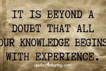 Knowledge / Knowledge Quotes