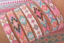 bead loom bracelet / bead loom bracelets