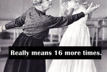 I'm a f#ing dancer