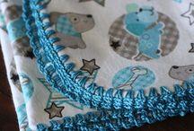 かぎ針編みの縁