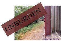 Unburden - Word for the Year 2015 / Ideas for ways to Unburden this year!