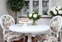 Sala de café e refeições familiar