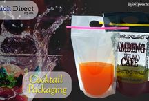 Mocktails Stand Up Pouch with zipper and handle