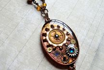 Steampunk resin projects