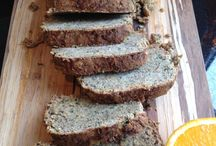 Paleo bread and meal food