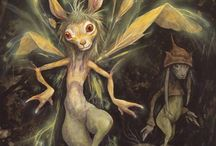 Brian Froud and the Froud Family