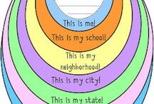 All About Me Soc St Maps / by Pam Taylor