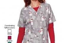 Holiday Scrubs 2015 / Tafford is your Christmas scrubs headquarters! We have many winter scrubs in our collection, including cute reindeer prints, snowflake prints, candy cane tops and holiday scrub jackets to keep you jolly and in the mood all season long.  / by Tafford Uniforms