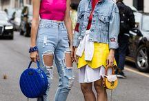 Denim Love / Wir lieben Jeans! Das sind die coolsten Denim-Looks von den Straßen und Kampagnen