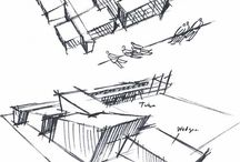 Architecture concepts / Concept drawings