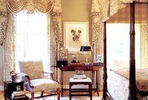 Georgian window dressings / Examples of Georgian window dressings and contemporary examples
