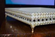 bandeja de perlas