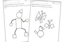 Les formes géométriques MS /gs