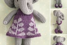 Inspirations - Knitting - creatures