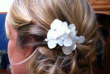 Sharyn Butters Wedding Hair Styles / Elegant Wedding Hair Styles created by Sharyn Butters Hair & Makeup Artist.