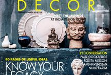 The Legacy Decor Special / ELLE Decor's The Legacy #Decor Issue covers the latest trends in lighting, fabrics and danglers, the hottest #designers in the country, 90 pages of useful ideas and, of course, the much talked about #IndiaDesignID2014.