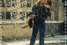 In the rain......