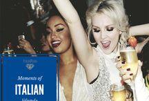 Moments of italian lifestyle / lifestyle italiano, dolcevita
