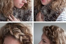 Stuff for my curls / by Hilary Ratner