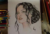 M E U S / Alguns desenhos criados por mim.
