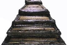 Bamboo Step Pyramid Hat / MUR Meditation Bamboo Pyramid Hat