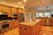 Lowcountry Kitchens / Some great looking Lowcountry kitchens from our recent Hilton Head and Bluffton real estate listings!