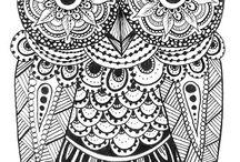 Zentangles and Doodling