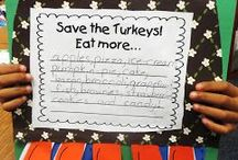 Thanksgiving ideas for first grade