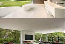 Living Area / Lots of space flowing to outdoor area with water views