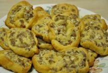 CC sausage pinwheels / Cream cheese sausage pinwheels
