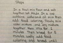 Play doh recipes
