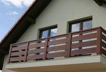 na balkonie