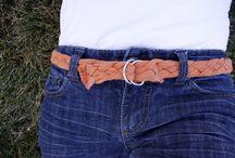 Handmade / Belt from t shirt