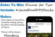 Jared Ford DDS Dentist Contest / All of our contests are opened up to all. You do not have to be a patient to enter! Simply follow our steps and hopefully learn something about Dentistry in the process!