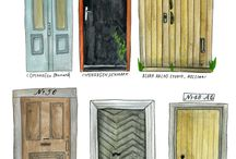 Illustrated doors & windows