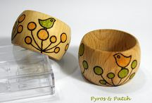 Pyrography, Fretwork and Wood , P&P / Handmade, object of craftsman,