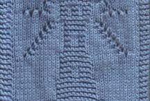 knitting square