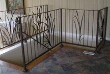 Fencing railing