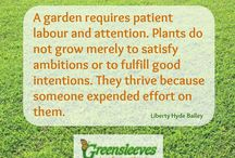 Great Gardening Quotes / A few garden related quotes that we love!