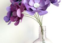Paper, Fabric & Felt Flowers
